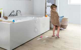Можно ли класть ламинат в ванную комнату