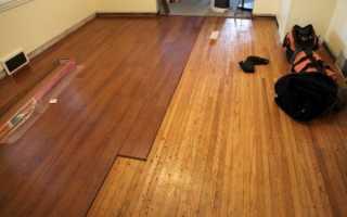 Укладка ламината на деревянный пол: пошаговая инструкция для новичков
