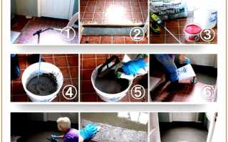 Наливные полы: технология нанесения и этапы строительных работ
