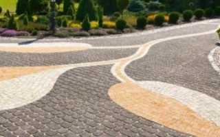 Способы укладки тротуарной плитки — наиболее популярные схемы