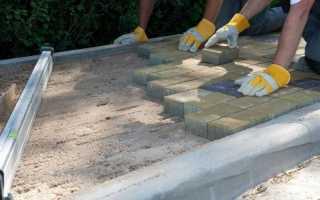 Технология укладки тротуарной плитки на песок своими руками: советы профессионалов
