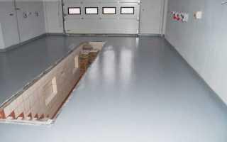 Наливной пол для гаража своими руками: выбор и нанесение