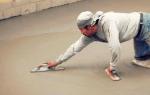 Чем затирают бетонные полы: использование вертолета и мастерка