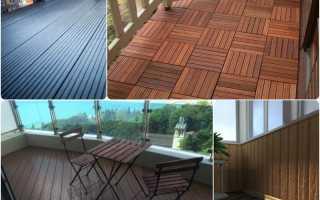 Террасная доска на балконе: варианты отделки и укладка