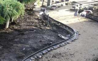 Укладка тротуарной плитки без бордюра своими руками: технология