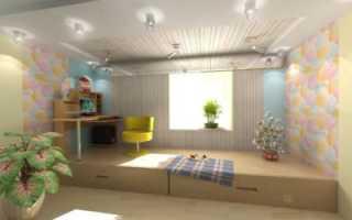 Строительство подиума в квартире своими руками — пошаговое руководство