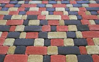 Варианты укладки тротуарной плитки старый город — схемы и фото