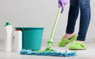 Каким моющим средством лучше мыть полы