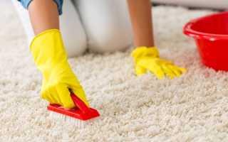 Как почистить ковер в домашних условиях быстро разными способами и средствами