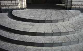 Крыльцо из тротуарной плитки: технология отделки + фото