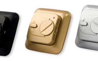 Терморегулятор (термостат) для теплого пола: инструкции по монтажу