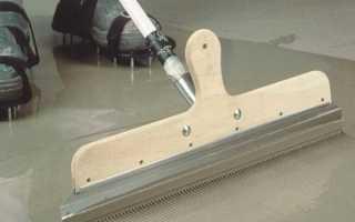 Сколько сохнет наливной пол под ламинат, плитку или линолеум