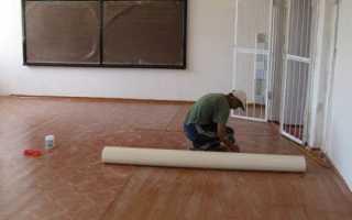 Как стелить линолеум на деревянный пол: пошаговая инструкция и советы