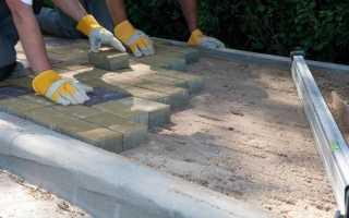 Как правильно класть тротуарную плитку своими руками — рекомендации