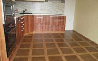 Напольное покрытие для кухни: что лучше положить на пол?