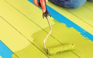 Покраска деревянного и бетонного пола своими руками: делаем сами