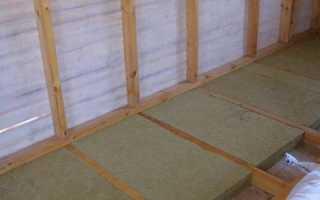 Теплоизоляция бетонного и деревянного пола в квартире и доме