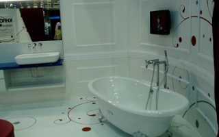 Наливной пол в ванной комнате своими руками + фото