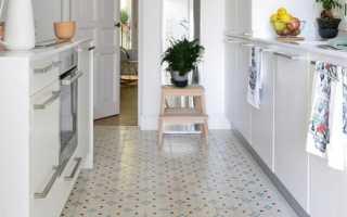 Напольная плитка в интерьере кухни: 25 идей дизайна на фото