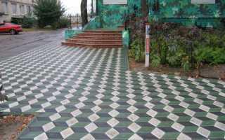Укладка тротуарной плитки ромб: схемы + фото