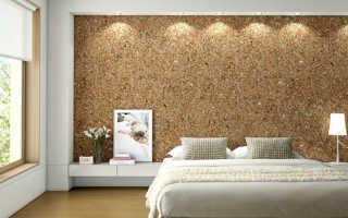 Как и чем приклеить пробковое покрытие на стену?