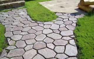 Формы для тротуарной плитки своими руками: варианты изготовления