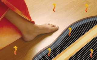 Виды электрических теплых полов — обзор современных систем