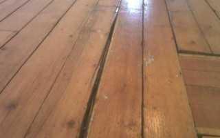 Как выровнять деревянные полы (фанерой) под ламинат своими руками?