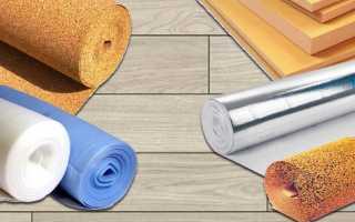 Какую подложку выбрать под ламинат на бетонный пол: несколько вариантов