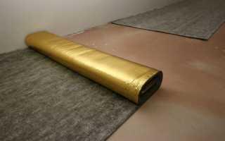 Звукоизоляция пола под стяжку в квартире: материалы и технология