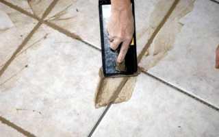Как затирать швы на плитке: несколько способов