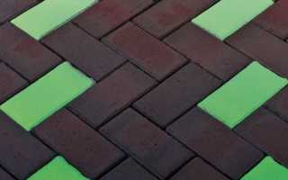 Светящаяся тротуарная плитка: производство своими руками + фото