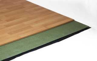Подложка под ламинат на деревянный пол: какая лучше, выбираем материал