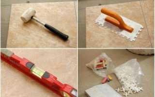 Как правильно класть кафельную плитку на пол — видео и фото инструкции