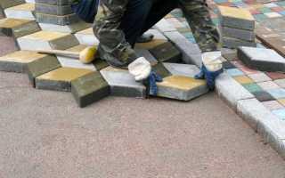 Укладка тротуарной плитки своими руками: пошаговая инструкция с фото