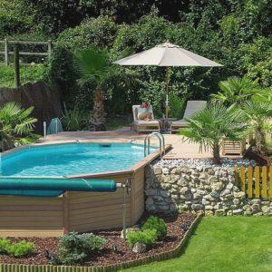 Ландшафтный дизайн для бассейна
