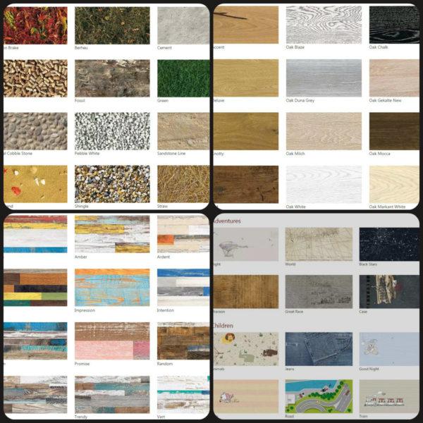 Разнообразие пробковых покрытий