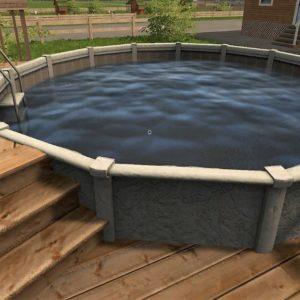 Незаглубленный бассейн