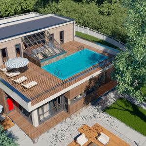 Террасная доска на крыше – универсальное решение
