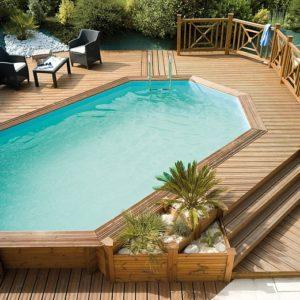 «Оправа» для бассейна