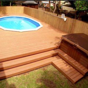 Удачное оформление для бассейна