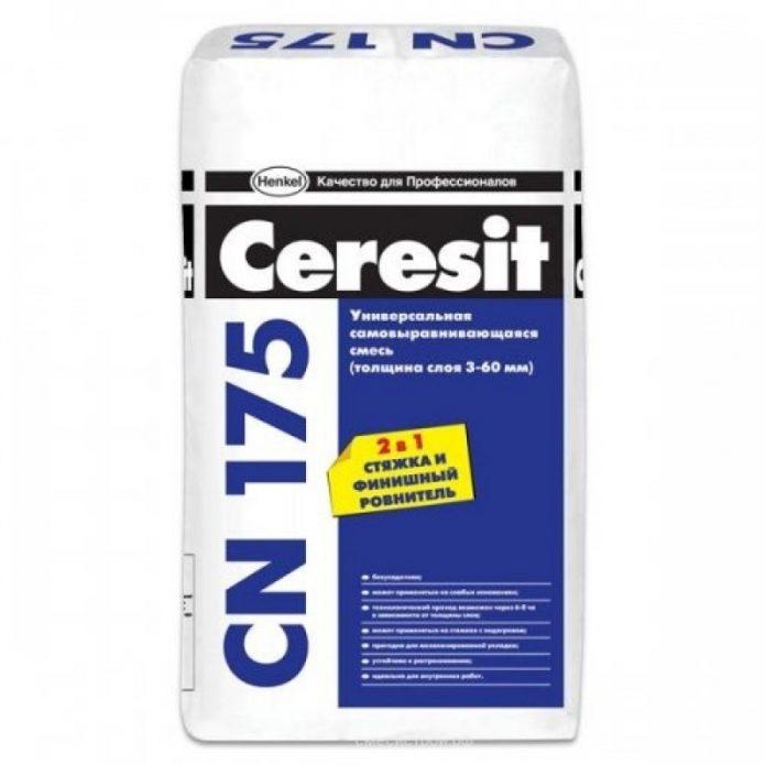 Универсальная самонивелирующаяся смесь Ceresit CN-17