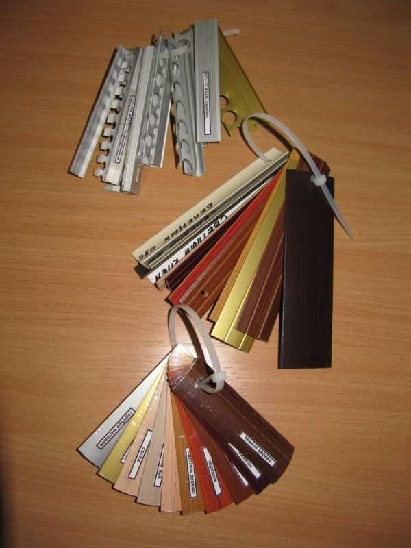 Выбор цвета для декорации стыка паркета и плитки