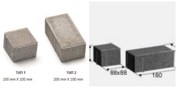 Доборный элемент для плитки Кирпич