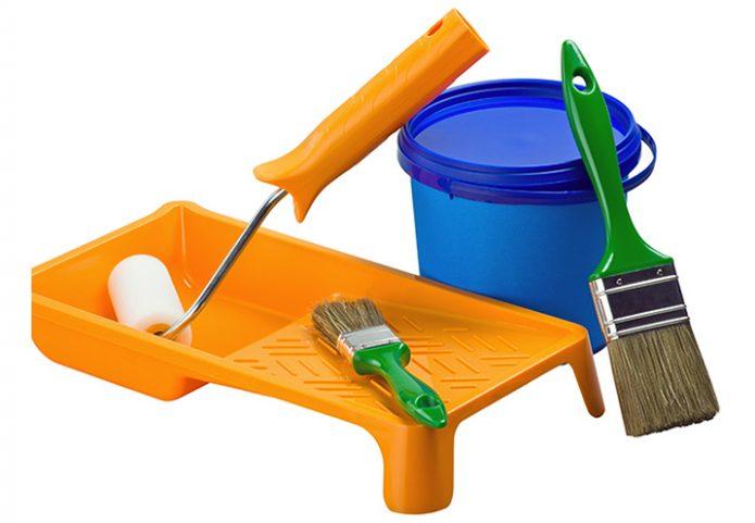 Инструмент для покраски линолеума