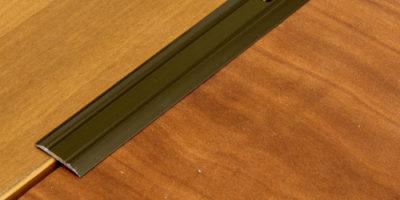 Металлические порожки - самые прочные и долговечные