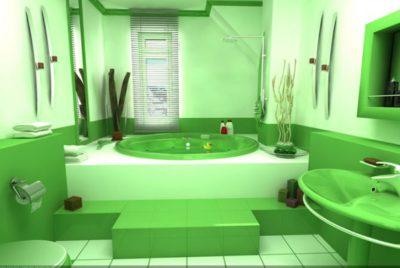 Напольное покрытие для ванной комнаты должно сочетаться с оформлением помещения