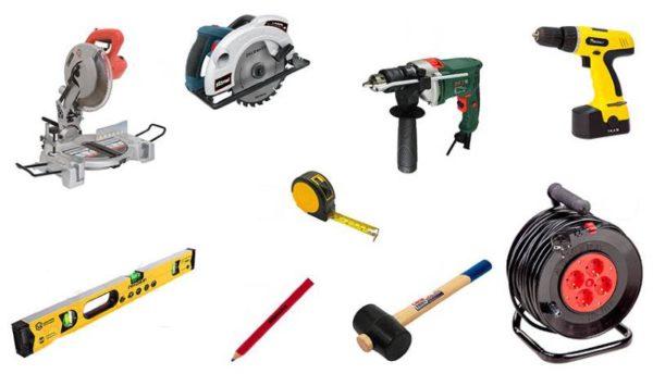 Инструменты для монтажа декинга