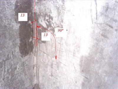 Как положить плитку на стену - определяем правильность углов