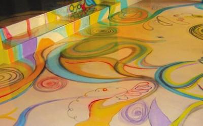 Рисунки на полимерной поверхности